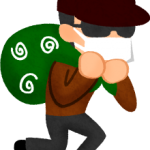泥棒がこっそり忍び込むBGM